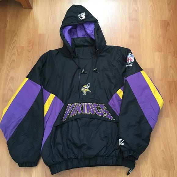 f4f76987d ... Minnesota Viking Half Zip Jacket. M 5a3be5cd84b5ceab8b00bd8a. Other  Jackets ...